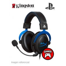 HEADSET HYPERX BLUE FOR PS4
